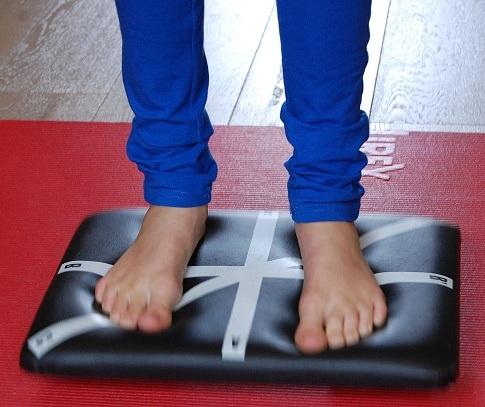 oefeningen evenwicht kinderen
